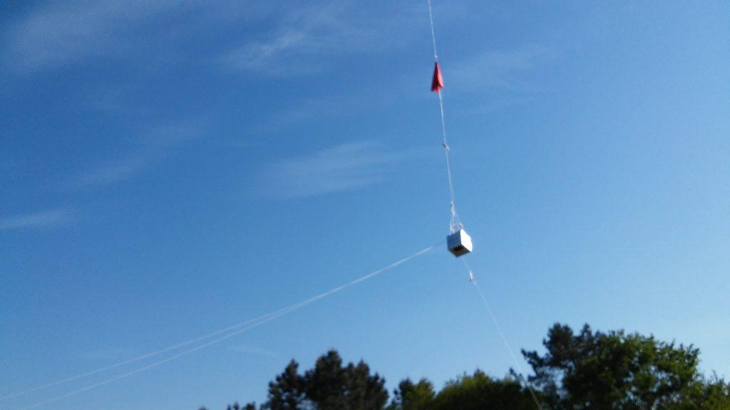 GC II voando